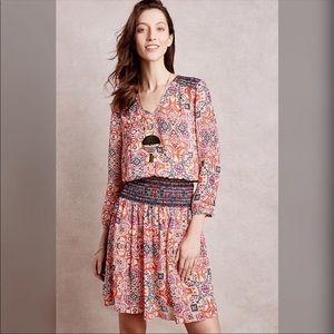 Anthropologie Vanessa Virginia Daytripper dress XS